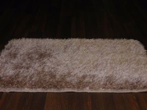 NEW ROMANY TRAVELERS WASHABLES DOORMAT 70X45CM NON SLIP SHAGGY SPARKLE BEIGES